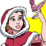 Snow White Online Coloring Game
