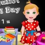 Baby Juliet School Day