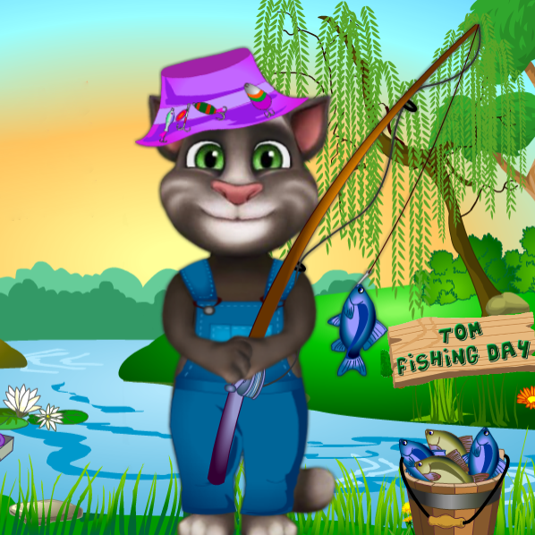 Tom Fishing Day