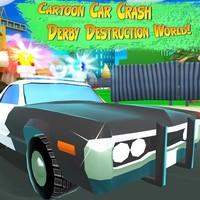Cartoon Car Crash Derby Destruction