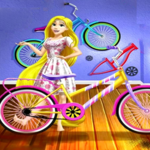 Rapunzel's Workshop Bicycle