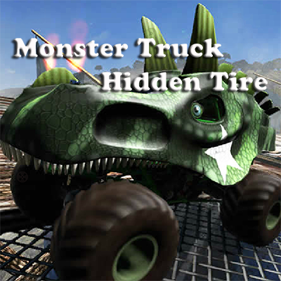 Monster Truck Hidden Tires