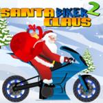 Santa Claus Biker 2