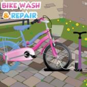 Bike wash and repair