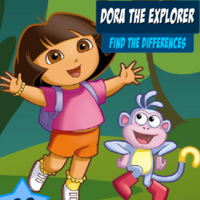 Dora The Explorer: Find The Differences