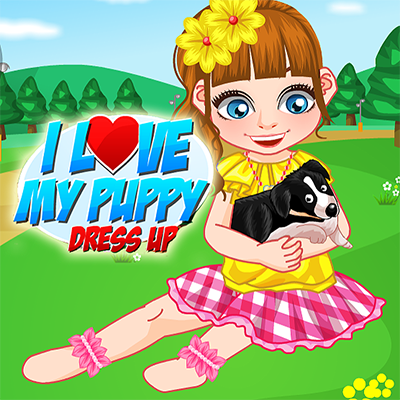 I Love My Puppy Dress Up