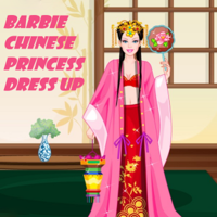 Barbie Chinese Princess Dress Up