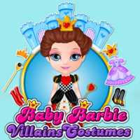 Baby Barbie Villains Costumes