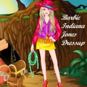 Barbie Indiana Jones Dressup