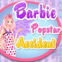 Barbie Popstar Accident