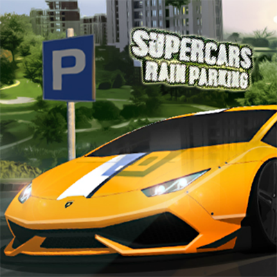 Supercar Rain Parking