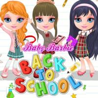 Baby Barbie Back To School