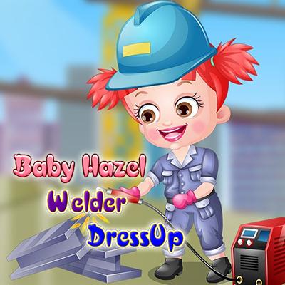 Baby Hazel: Welder Dress Up