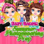 Baby Barbie Summer Photoshooting Prep