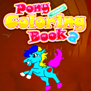 Pony Coloring Book 2