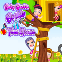 Baby Barbie: Builds A Treehouse