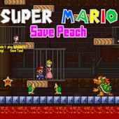 Super Mario Save Peach