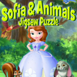 Sofia And Animals Jigsaw Puzzle