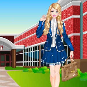Barbie at College Dress Up