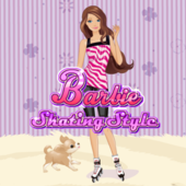 Barbie Skating Style