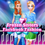 Frozen Sisters: Facebook Fashion