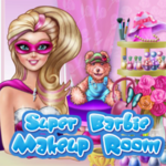 Super Barbie Makeup Room