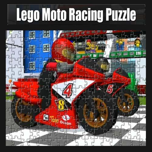 Lego: Moto Racing Puzzle