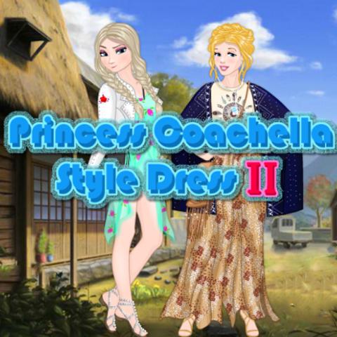 Princess Coachella Style Dress II