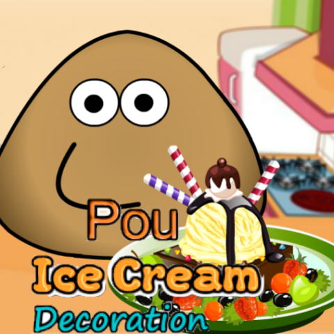 Pou: Ice Cream Decoration