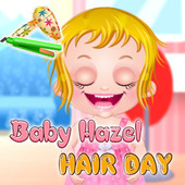 Baby Hazel: Hair Day