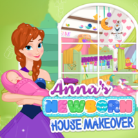 Anna's Newborn House Makeover