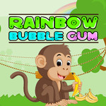 Rainbow Bubble Gum