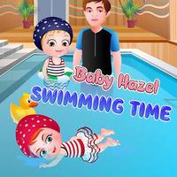 Baby Hazel Swimming Time