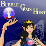 Bubble Gems Hunt