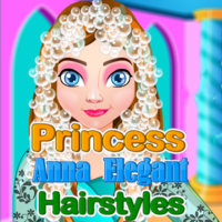 Princess Anna: Elegant Hairstyles