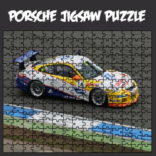Porsche Jigsaw Puzzle