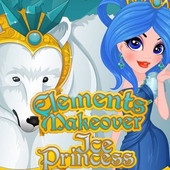Elements Makeover Ice Princess