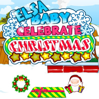 Beliebte Spiele,		Elsa Baby Celebrate Christmas is a Puzzle game. You can play Elsa Baby Celebrate Christmas in your browser for free. Hey,girls! Merry Christmas! We are so happy today and we also prepare a new girl game Elsa Baby Celebrate Christmas for you. Look, there is a cute Elsa baby who you can celebrate Christmas with her. First, decorate her room more beautiful with Christmas tree, gifts, bells and etc. And then play hide-and-seek with her. Today is a snowy day and the snow is very thick. So try to make a snowman in the yard. At last, dress up her with new cloths. Come on! let us celebrate the nice day with her. She will very happy to see you!
