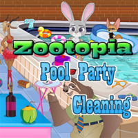 Zootopia: Pool Party Cleaning