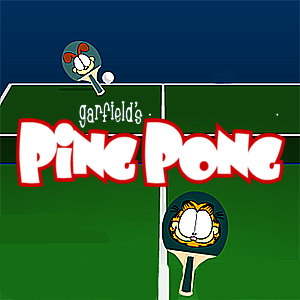 Garfield's Ping-Pong
