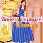 Modern Rapunzel: Dress Up