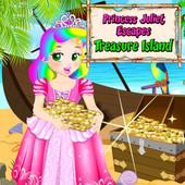 Princess Juliet Escapes: Treasure Island