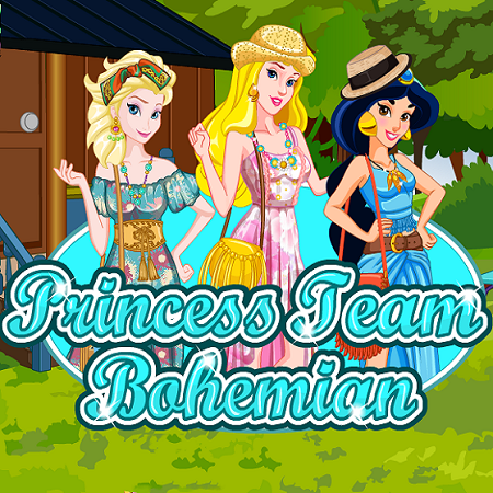 Princess Team Bohemian