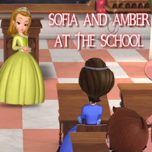 Sofia And Aber At The School