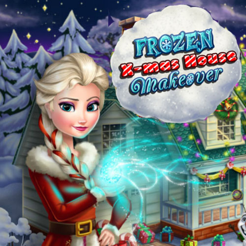 Frozen: X-mas House Makeover