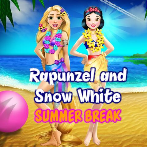 Rapunzel And Snow White: Summer Break