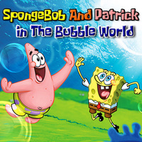 SpongeBob And Patrick In The Bubble World