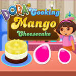 Dora's Cooking Mango Cheesecake