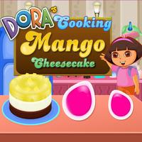 Dora's Cooking Mango Cheesecake