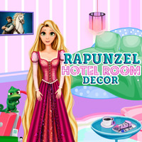 Rapunzel: Hotel Room Decor